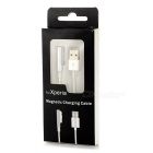 Lighting Magnetic Charging Cable for Sony Z1 L39 + More - White (99cm)