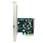 Cwxuan PCI-E 4X to 1 x USB 3.1 Type-C Extension Card (SATA 15-Pin Power Supply)