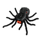 Creative Remote Control Simulation Tarantula Spider Pet Toy - Black
