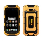 "iMAN i5800C Android 4.4 Quad-Core 3G Rugged Phone w / 4,5 ""IPS HD, 8 GB ROM, Wi-Fi, GPS - Gelb"
