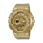 Genuine Casio Baby-G BA-111-9AER Ladies' Analog-Digital Watch - Gold