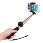 ROCK langaton bluetooth monopod w / haltija iPhone 6 - gold + musta