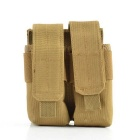 Outdoor 600D Tactical Stack Nylon Ammo Pouch for War Game - Mud Color