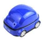 USB Creative Cylinder Car Style Smokeless Smoking Ashtray - Blue + Black