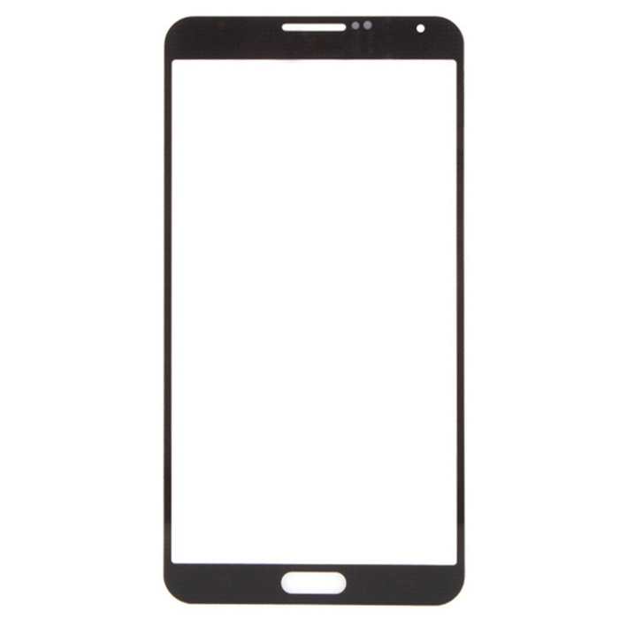 Phone Glass Touch Screen Panel for Samsung Note3 - Black + Transparent
