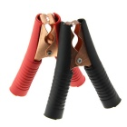 150A 24V Wohnung Copper Test-Clips - Schwarz + Rot (2 PCS)