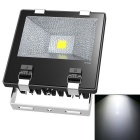 JIAWEN Waterproof Wired 70W LED Floodlight White Light 6500K 7700lm - Black (AC 85~265V)