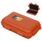 Outdoor Survival Water-Resistant Anti-Shock Storage Sealed Case Box Container - Orange (S)