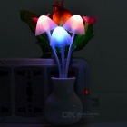Pomegranate Style Light Control Warm White/Multi-Color LED Nightlight