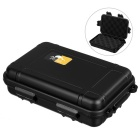 Outdoor Survival Water-Resistant Anti-Shock Storage Sealed Case Box Container - Black (L)
