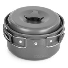 Sunfield Picnic Cooking Pot Saucepan for One People - Black Ash