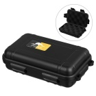 Outdoor Survival Water-Resistant Anti-Shock Storage Sealed Case Box Container - Black (S)