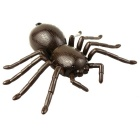 Simulation Electric Frightened Infrared Ray Remote Control Spider Toy - Dark Brown