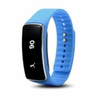 "V5S 0.91"" Bluetooth V4.0 Smart Bracelet w/ Pedometer / Calories - Blue"