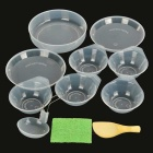 Sunfield 15P501-1 Picnic Cooking Pots & Pan Set for 4~5 People - Black