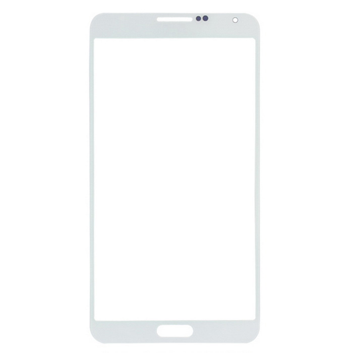 Phone Glass Touch Screen Panel for Samsung NOTE3 - White + Transparent