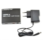 CHEERLINK 2160P 3D HDMI to HDMI + Audio Converter w/ Optical, 3.5mm