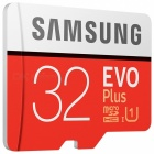SAMSUNG TF / Micro SDHC EVO Plus Memory Card - Red + White (32GB / UHS-I)