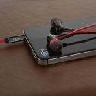 Mrice E300A In-ear Earphones w/ Mic for Tablet PC, Phone - Black + Red