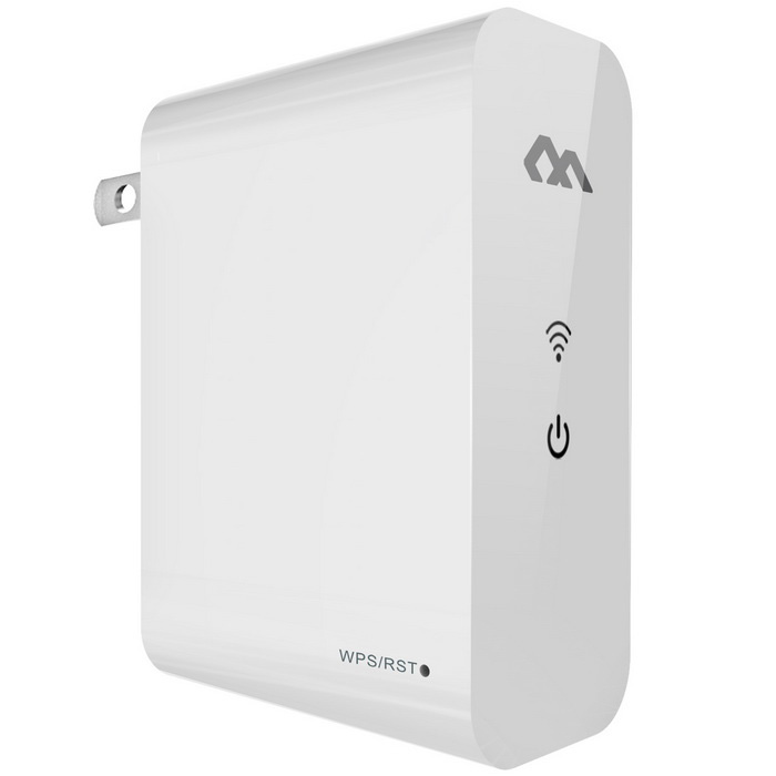 COMFAST CF-WR360N Wi-Fi Access Point Wireless Repeater w/ WPS - White