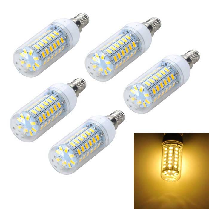 marsing e14 10w ampoule de ma s led chaud lumi re blanche 3000k 56 smd 5pcs envoie gratuit. Black Bedroom Furniture Sets. Home Design Ideas