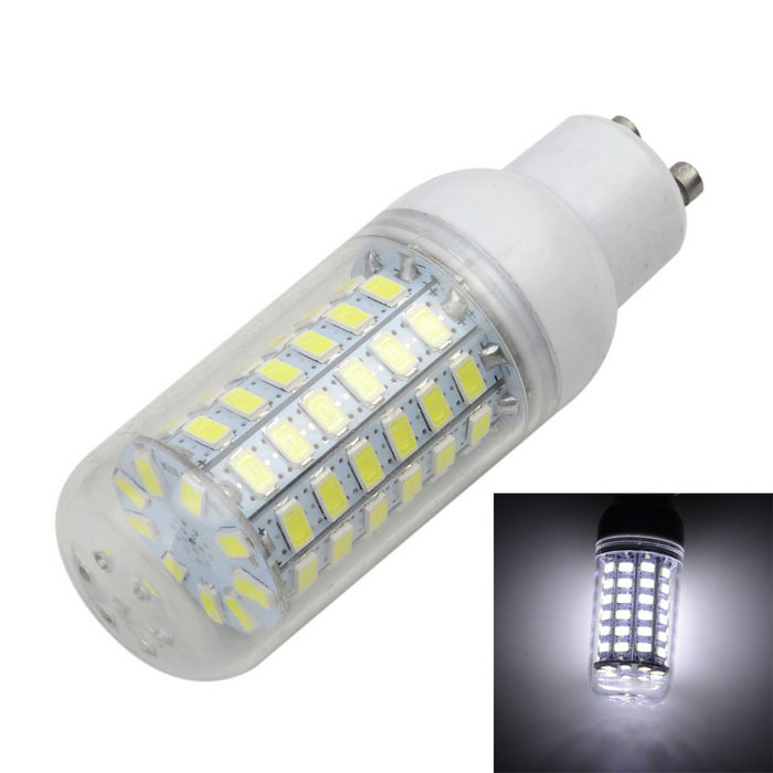 Marsing GU10 12W LED Corn Lamp Cold White 69-SMD - White + Yellow