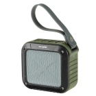 W-king S7 Outdoor Portable NFC Wireless Bluetooth V4.0 Speaker w/ Micro USB - Army Green + Black