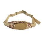 800D Outdoor Waterproof Nylon Waist Bag for Cycling - Camouflage