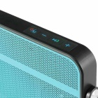 w-king T9 ultraslanke NFC BT outdoor speaker w / fm, TF - blauw + zwart