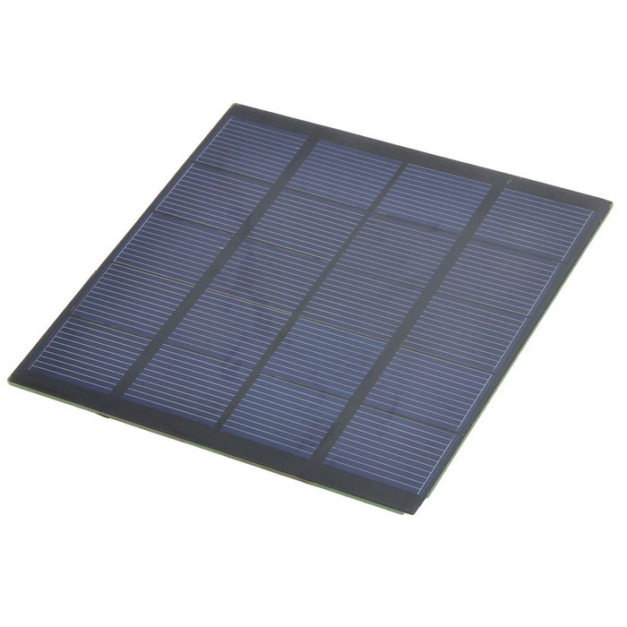 High Quality 1.8W 5V Polysilicon Solar Panel - Black
