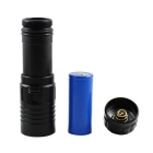 KINFIRE 1-LED 900lm IPX8 180m Waterproof Diving Flashlight - Black