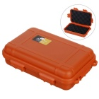 Outdoor Survival Water-Resistant Anti-Shock Storage Sealed Case Box Container - Orange (L)