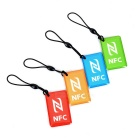 NTAG216 NFC Erasable Tags for Android Phone - Blue + Multicolor (4PCS)