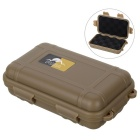Outdoor Survival Water-Resistant Anti-Shock Storage Sealed Case Box Container - Tan (S)