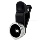 Universal 0,4X Super Wide Angle + 10X Macro Lens Telefone - Silver