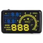 "5.5"" Screen Car Head UP Display w/ OBD II Interface - Black"