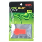 SSK SSCRS064 USB 2.0 Micro SD / TF Card Reader - rouge (64 Go)