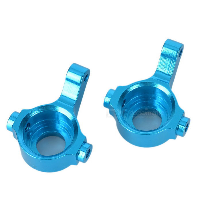 R/C Car Alloy Front Steering Hubs for WLtoys A959 / A969 - Blue (2PCS)