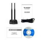 COMFAST CF-WU7201ND 150Mbps USB Wireless Adapter w/ 2 Antenna - Black