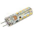 G4 3W LED Corn Lamp Warm White 200lm - White + Orange (10PCS)