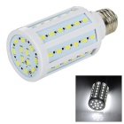 E27 12W LED Corn Light White 6450K 60-SMD - White + Yellow (110~130V)