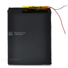 3.7v 4000mah chargeable li-polymer battery w/ protective plate for tablet pc - black