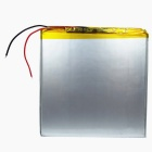 3.7v 4000mah chargeable li-polymer battery w/ protective plate for tablet pc - silvery white