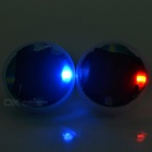 15-Mode Solar Powered LED Flash Tire Schrader Valve Cap Light (2PCS)