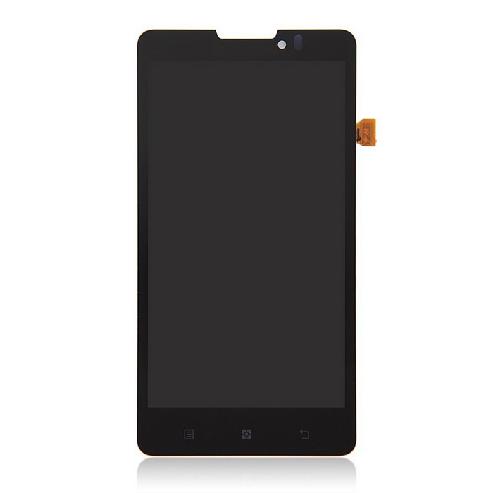 LCD Screen Touch Screen Touch Panel for Lenovo P780 Smartphone - Black