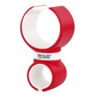 Lenuo 360' Rotatable Car Mini Holder Swivel for GPS / IPHONE 6 / IPHONE 6 PLUS - Red + White