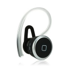 YUEER-106S Mini Music Phone Calls Bluetooth Earphone Earbud For Smartphone-Black&Silver