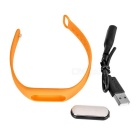 MAIKOU Waterproof Smart Android 4.4 BT Bracelet w/ Pedometer - Orange