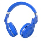 Bluedio T2 Rotatable Folding Wireless Bluetooth V4.1 Headphones w/ Mic - Blue