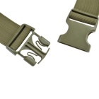 800D Outdoor Waterproof Nylon Waist Bag for Cycling - Army Green